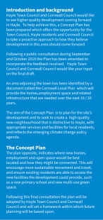Introduction and background   Hayle Growth Area Concept Plan