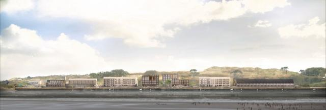 The regeneration plans for Hayle Harbour's North Quay look set to be approved next week