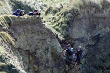 With many people noticing the cart in the cliff for the first time, its appearance has prompted much wonder and speculation about how it got there