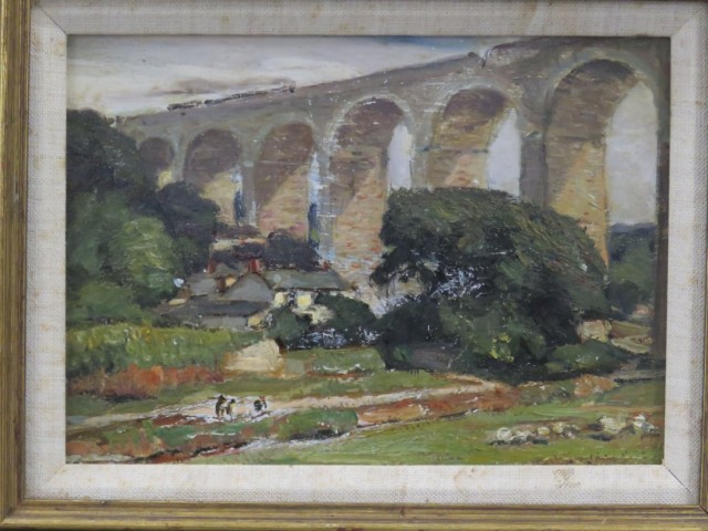 Angarrack Bridge, Cornwall, Eng | George Gardner Symons (British/American 1862-1930)